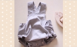 Cotton baby jump suit by Dido Suu