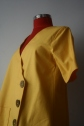 So very 90s bright yellow mini dress by Dido Suu